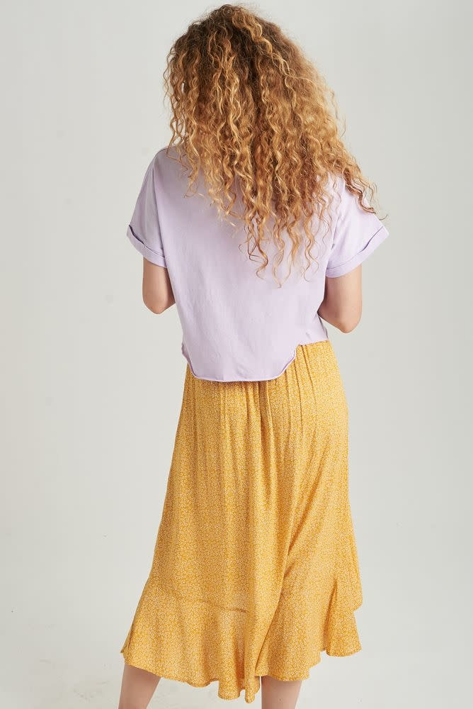 Libby cropped cut-off t-shirt Lila-3