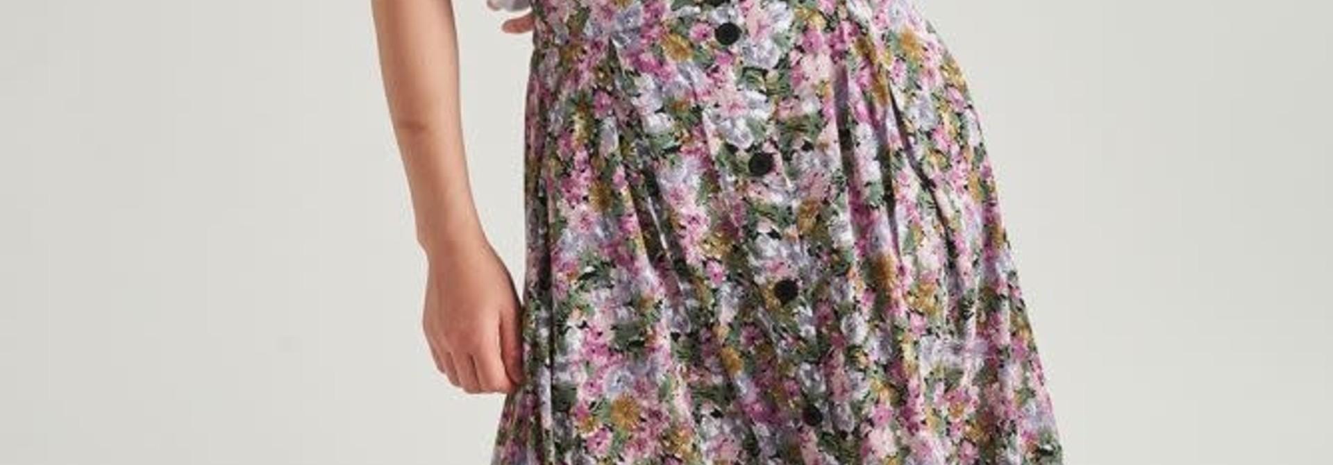 Lisa  skirt Purple