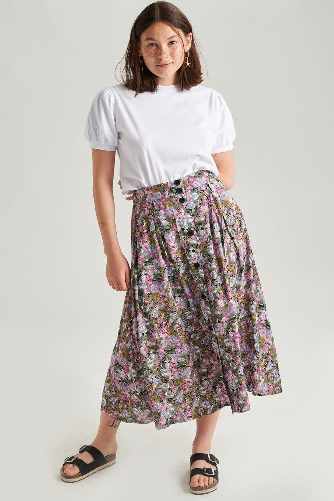 Lisa  skirt Purple-1