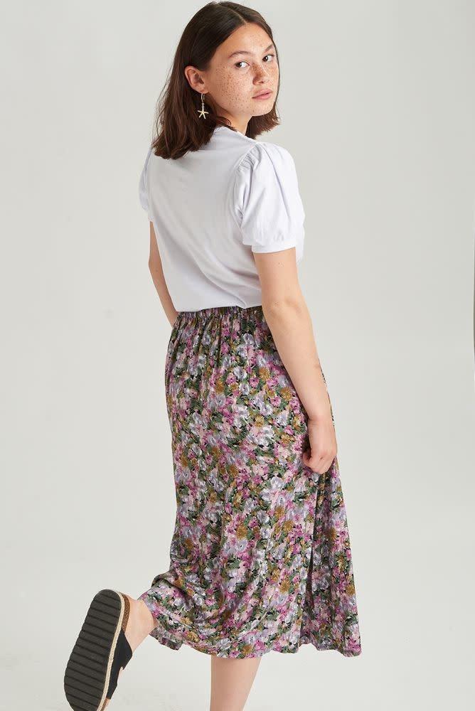 Lisa  skirt Purple-2
