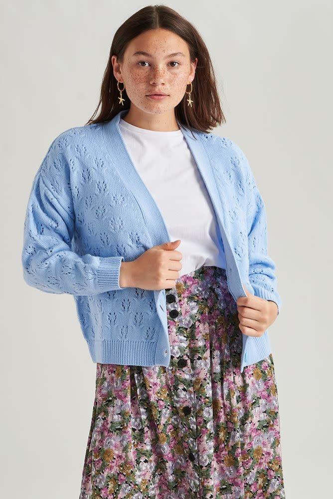 Lisa  skirt Purple-3