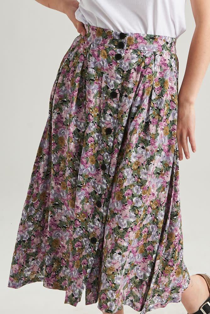 Lisa  skirt Purple-4