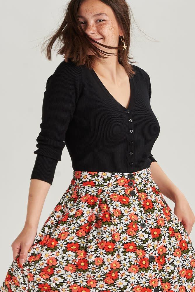 Lisa skirt Black-2