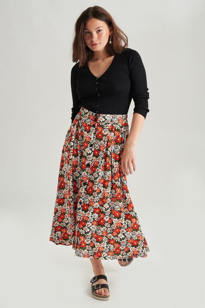 Lisa skirt Black-1
