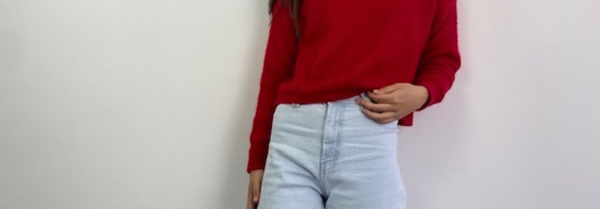 Tine Boatneck Short Pull Red
