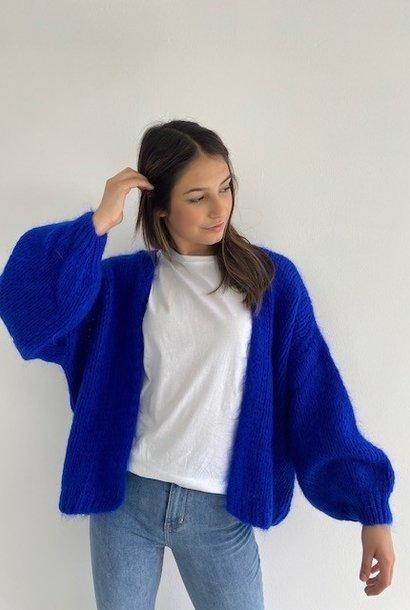 Jelisa oversized short bernadette Cobalt Blue
