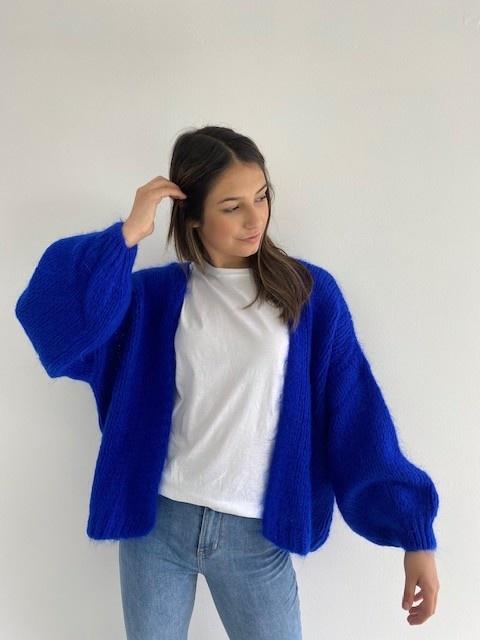Jelisa oversized short bernadette Cobalt Blue-1