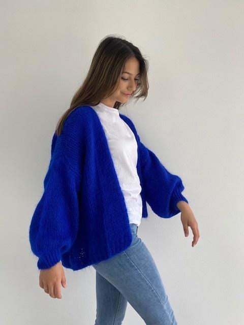 Jelisa oversized short bernadette Cobalt Blue-2