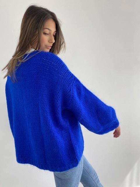 Jelisa oversized short bernadette Cobalt Blue-3