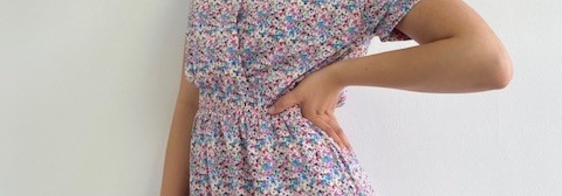 Grace dress Violet