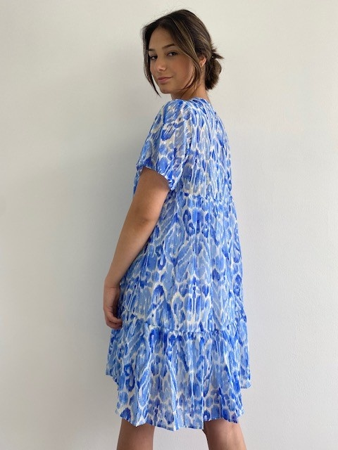 Ellaug dress Cobalt-2