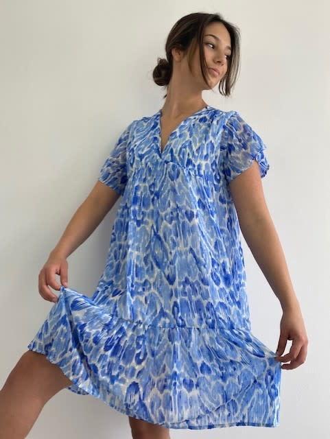 Ellaug dress Cobalt-3