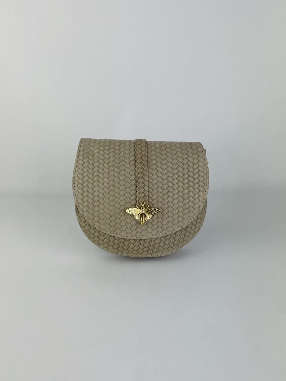 Cléo calf leather dragonfly bag Beige-1