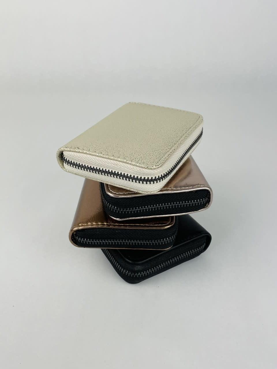 Lomea little wallet Copper Metalic-3