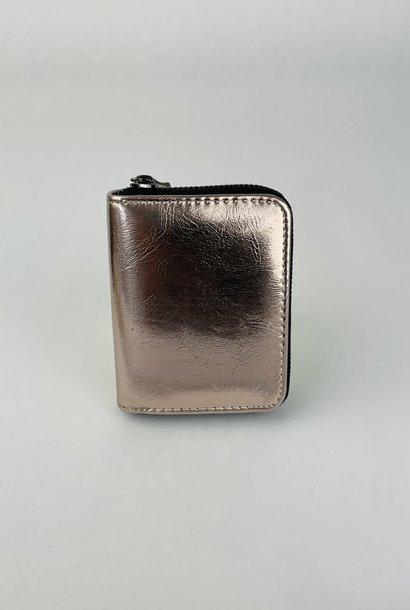 Lomea little wallet Copper Metalic