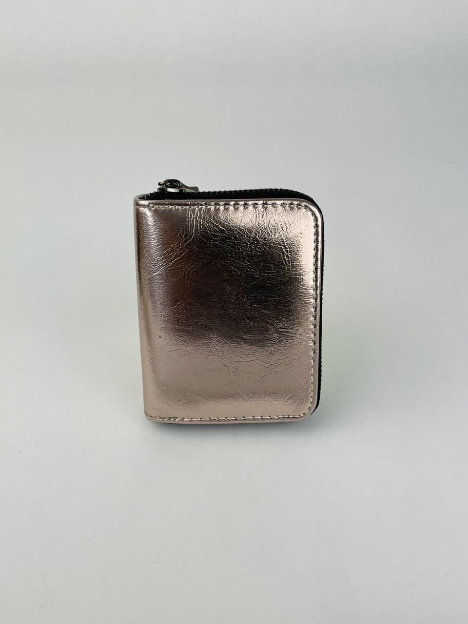 Lomea little wallet Copper Metalic-1