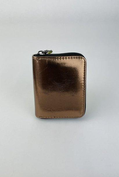Lomea little wallet Bronze Metalic