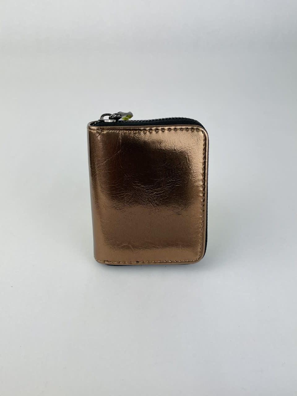 Lomea little wallet Bronze Metalic-1