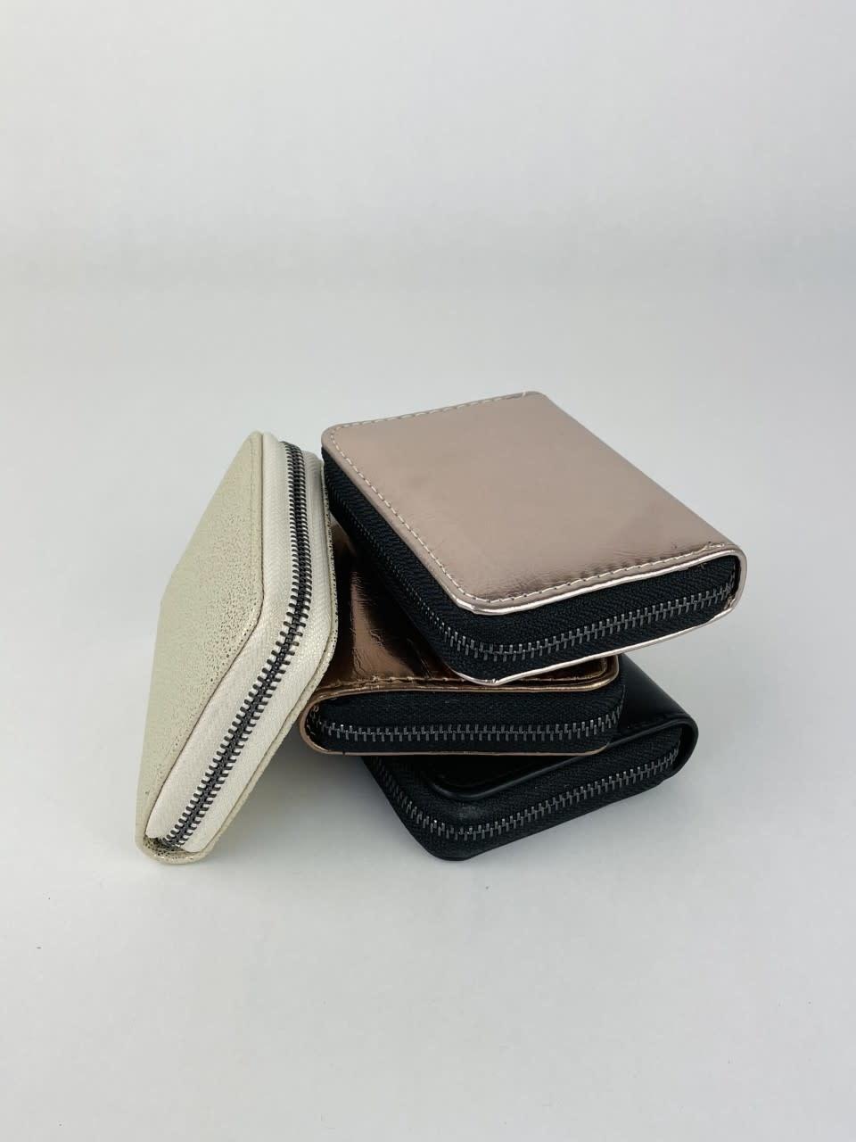 Lomea little wallet Bronze Metalic-3