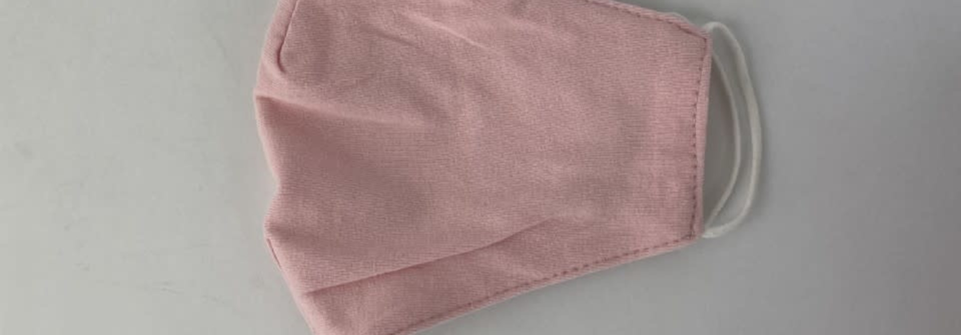 Vive cotton stretch face mask Pink