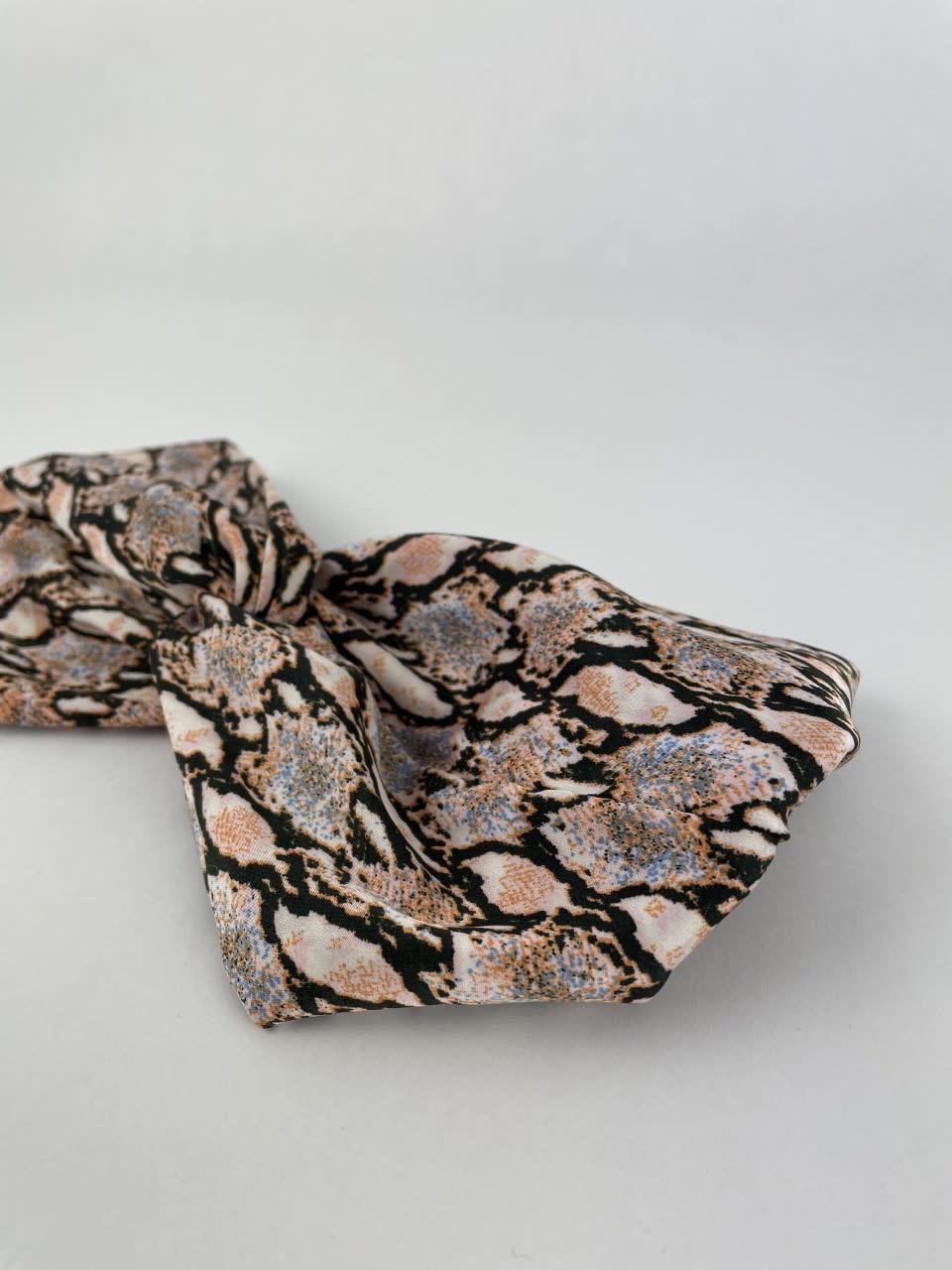 Morley satin hairband Sneak Coral-2