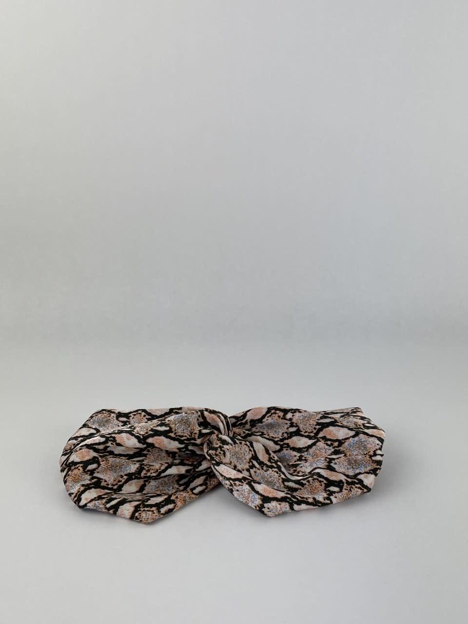 Morley satin hairband Sneak Coral-3