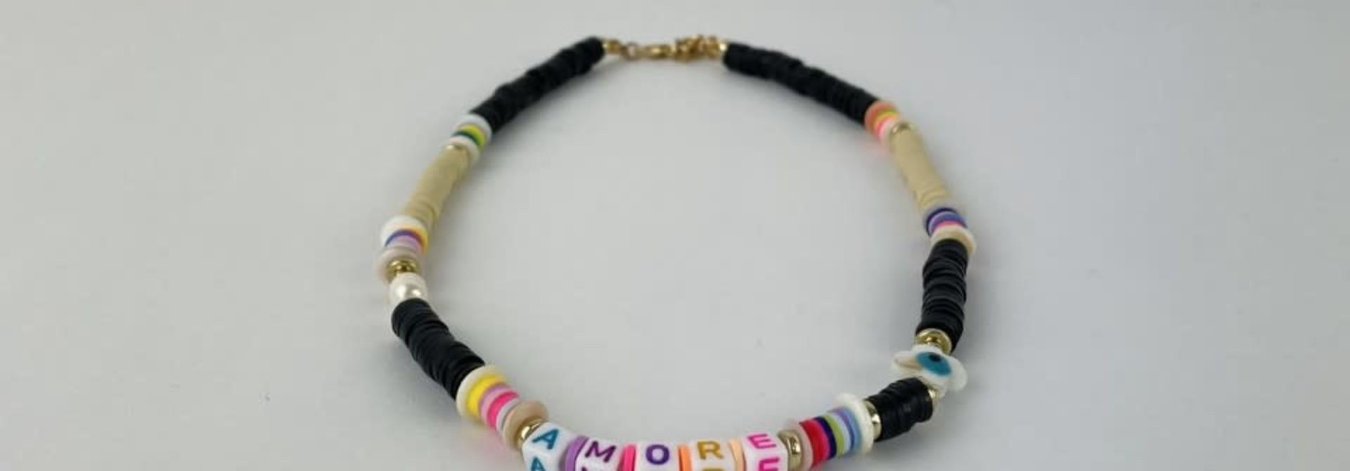 Rubberia fantasy necklace Black