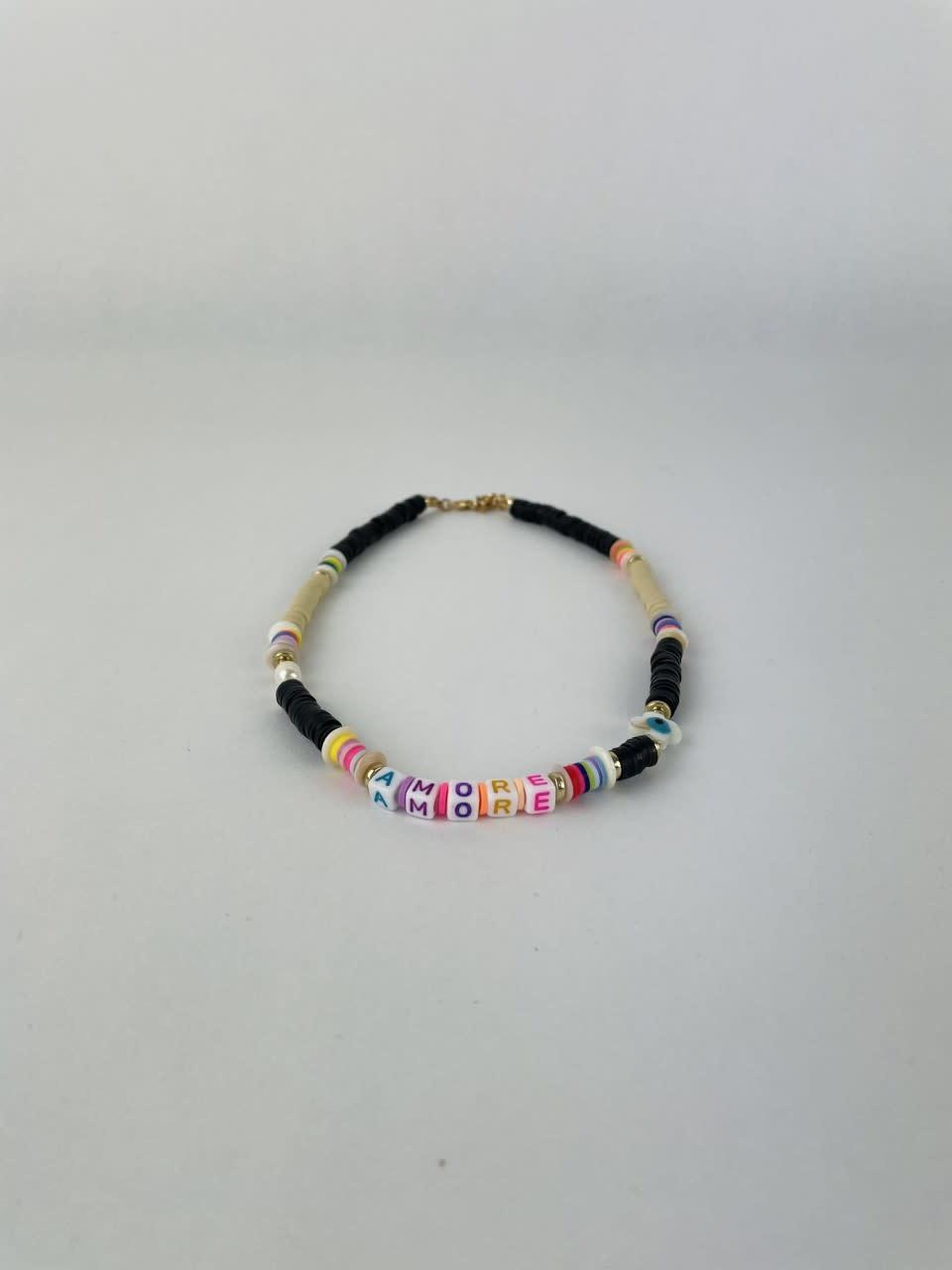 Rubberia fantasy necklace Black-1