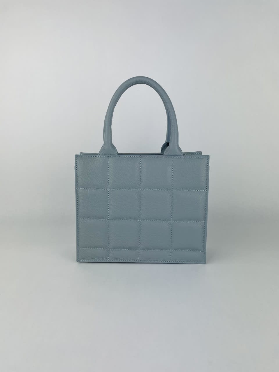 Metora leather bag Light Blue-1