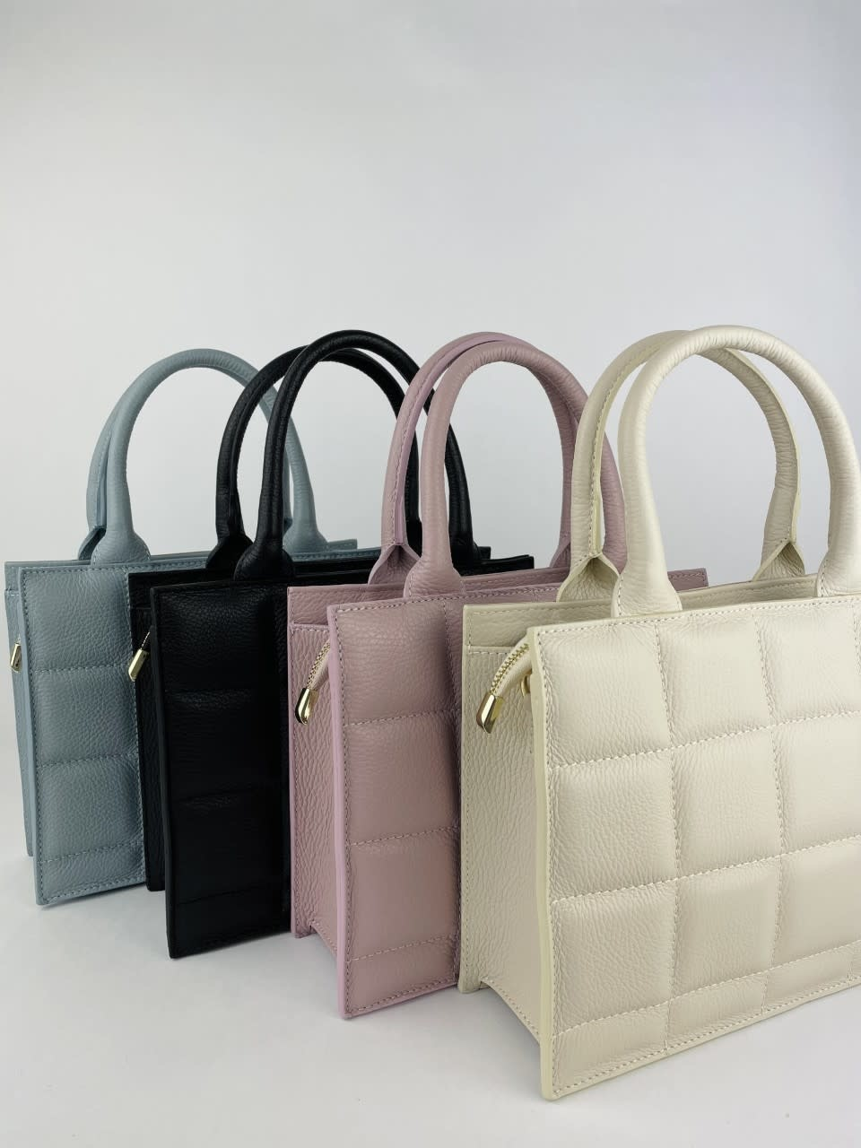Metora leather bag  Lila-3