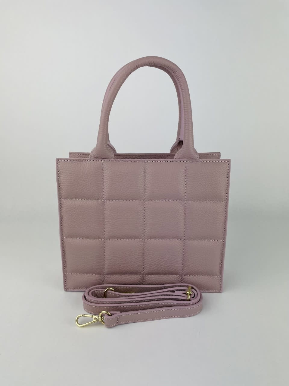 Metora leather bag  Lila-4