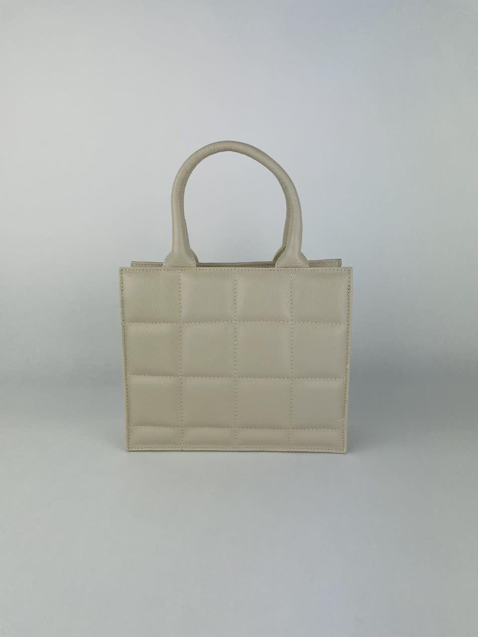 Metora leather bag Broken White-1
