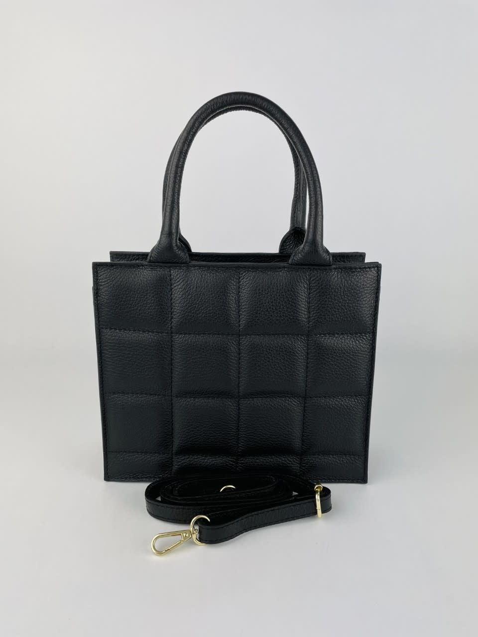 Metora leather bag Black-2