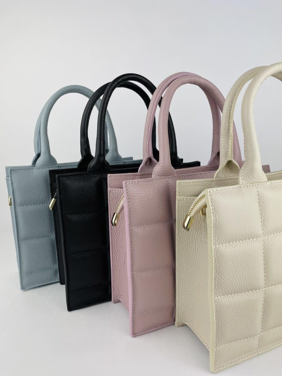 Metora leather bag Black-3