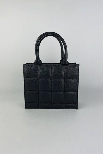 Metora leather bag Black