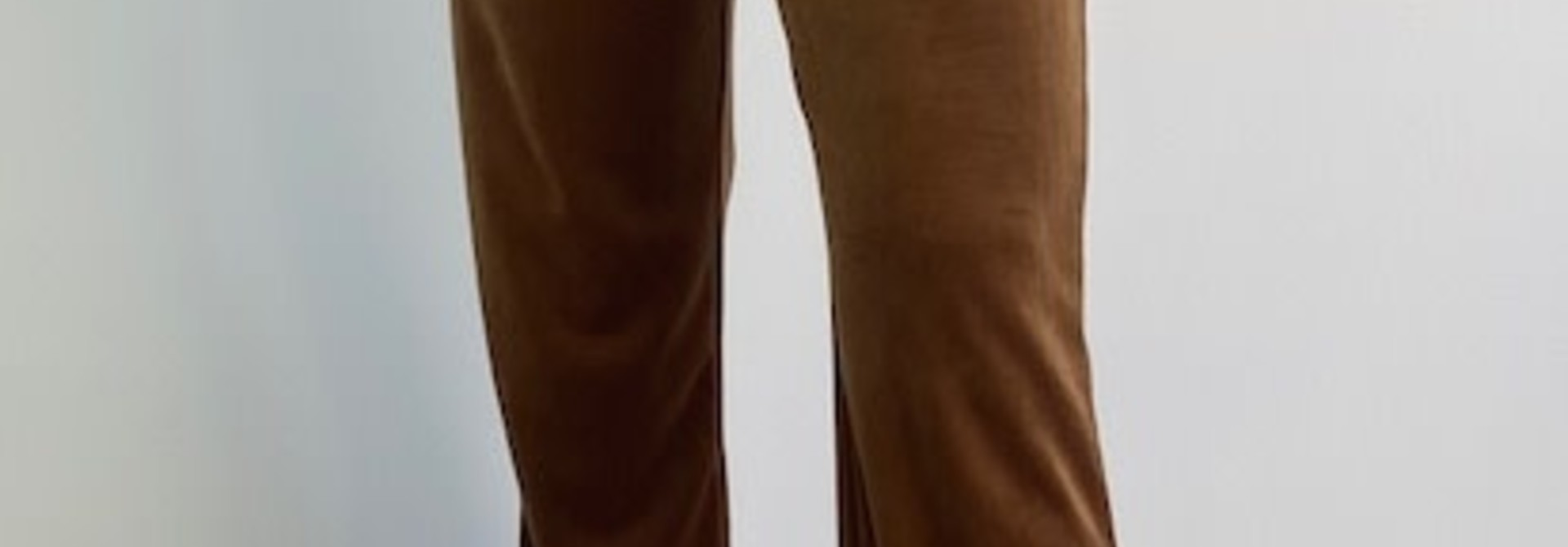 Lancio velvet pant Camel
