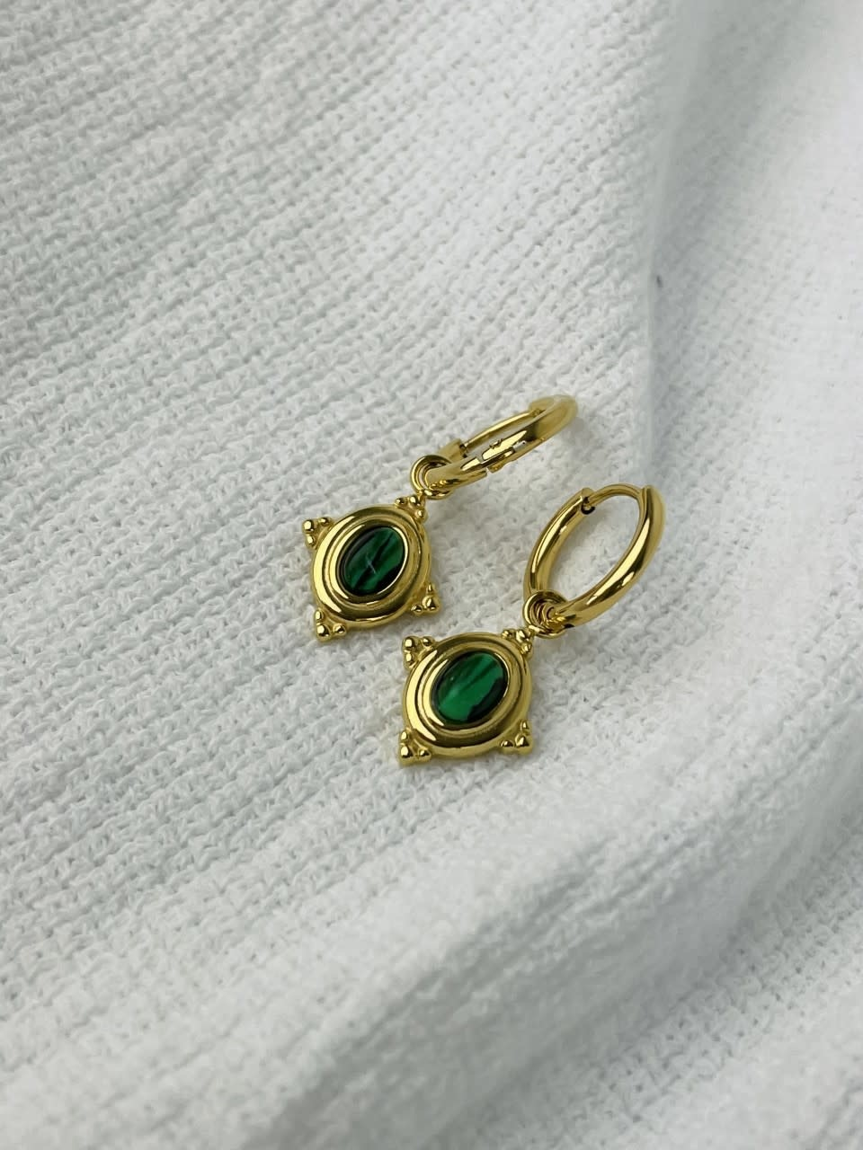 Mirhy earrings Green-1