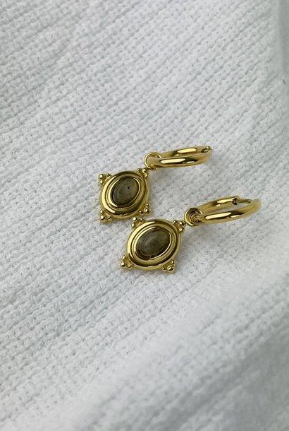 Mirhy earrings Ecru