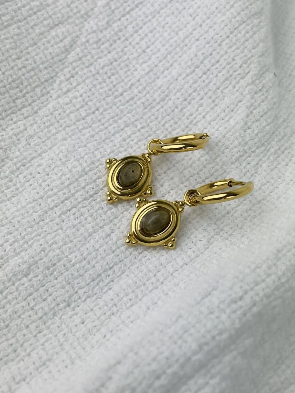 Mirhy earrings Ecru-1