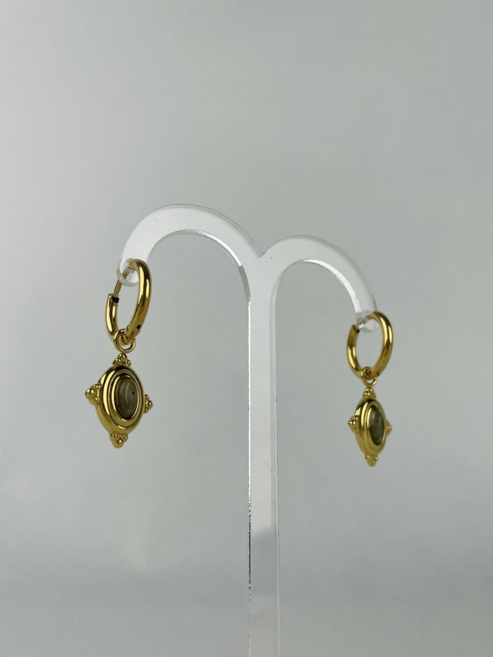 Mirhy earrings Ecru-2
