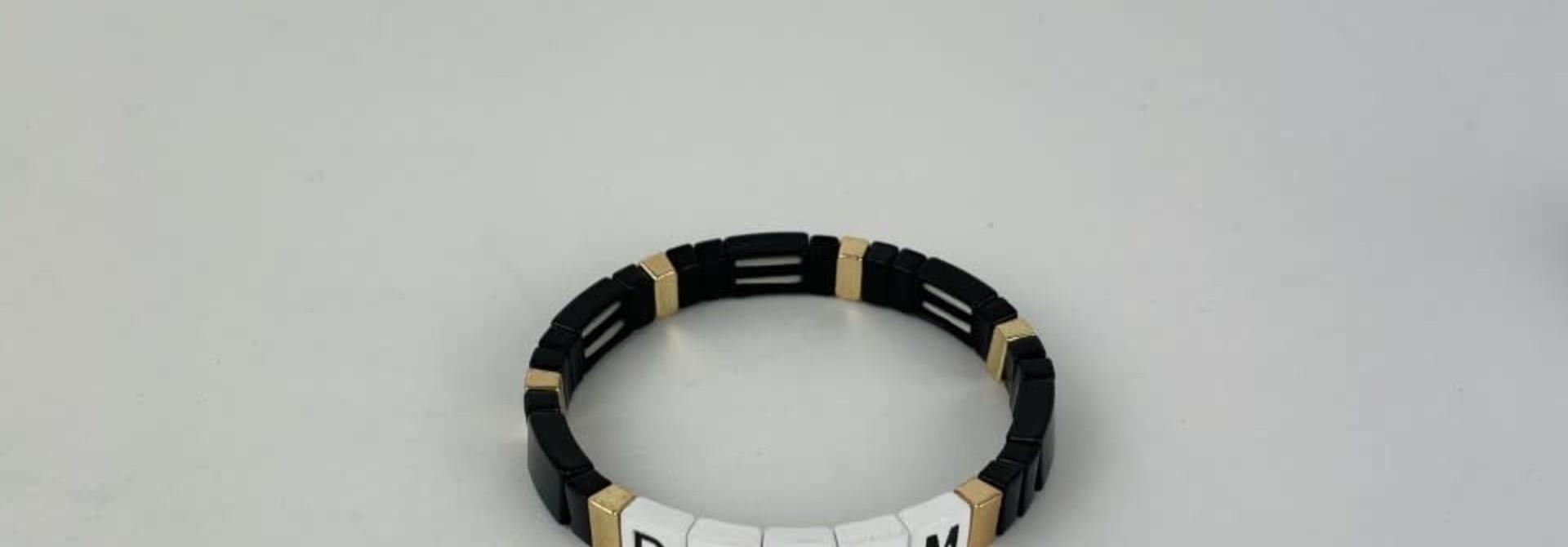 Dream cubes bracelet Black