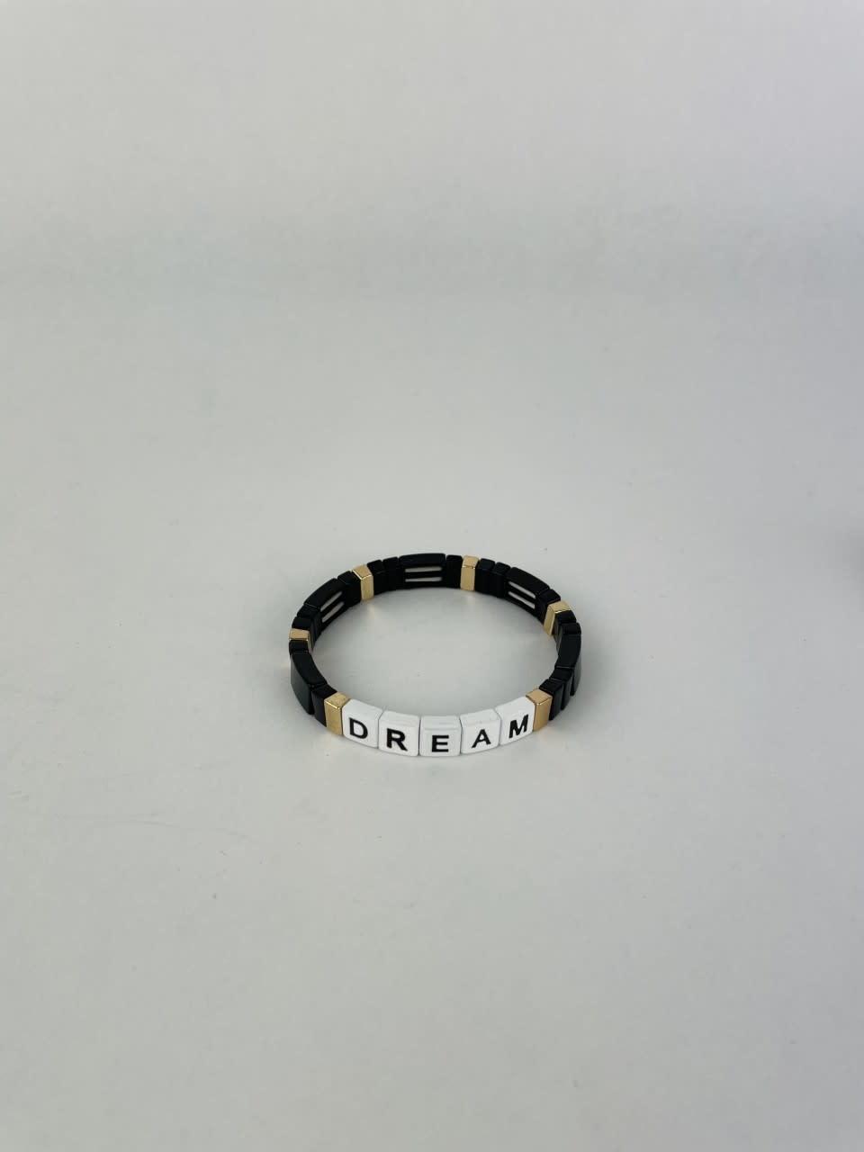 Dream cubes bracelet Black-1