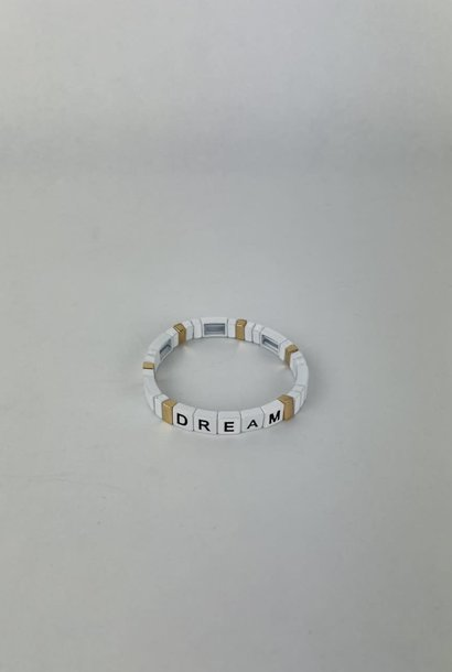 Dream cubes bracelet White