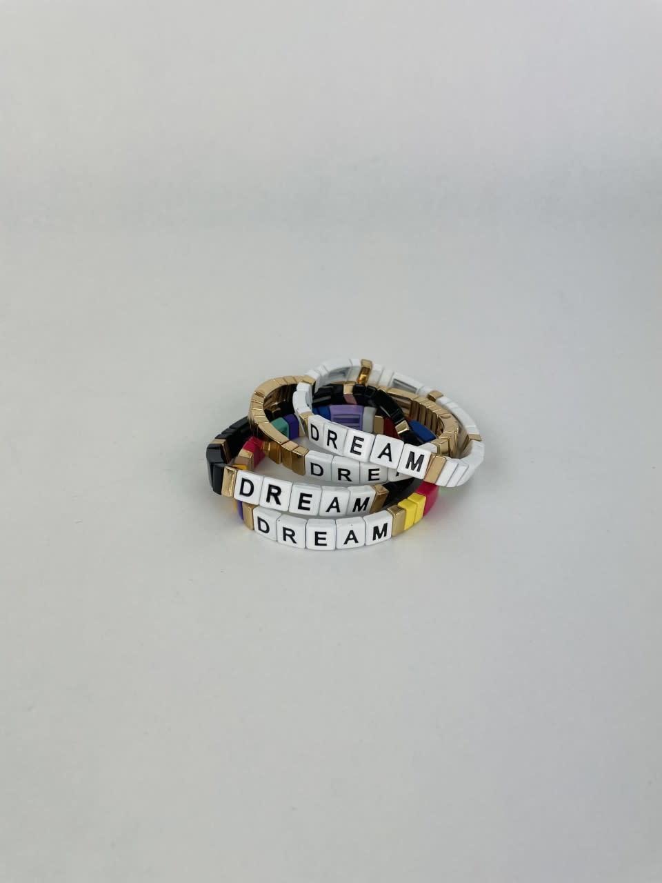 Dream cubes bracelet Gold-2