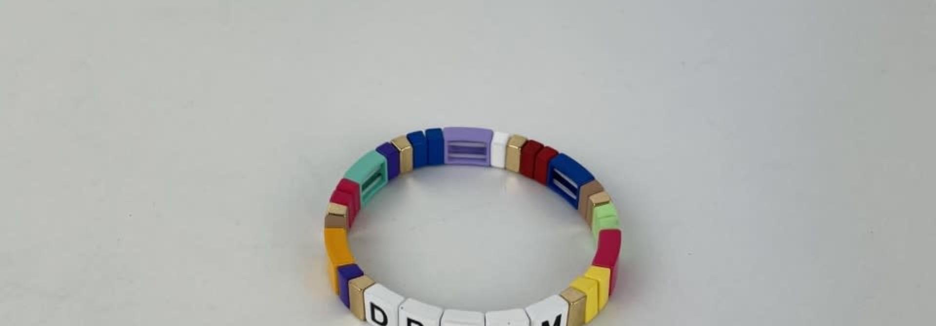 Dream cubes bracelet Multi