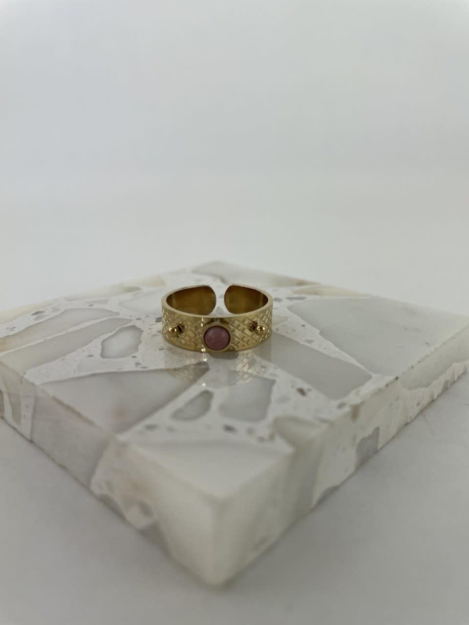 Ayara inscribed ring Violet-1