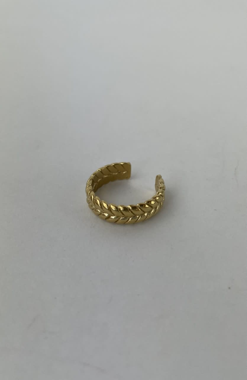 Izelle brained ring gold-2