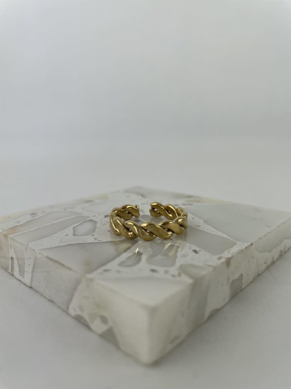 Jaida chain ring Gold-1