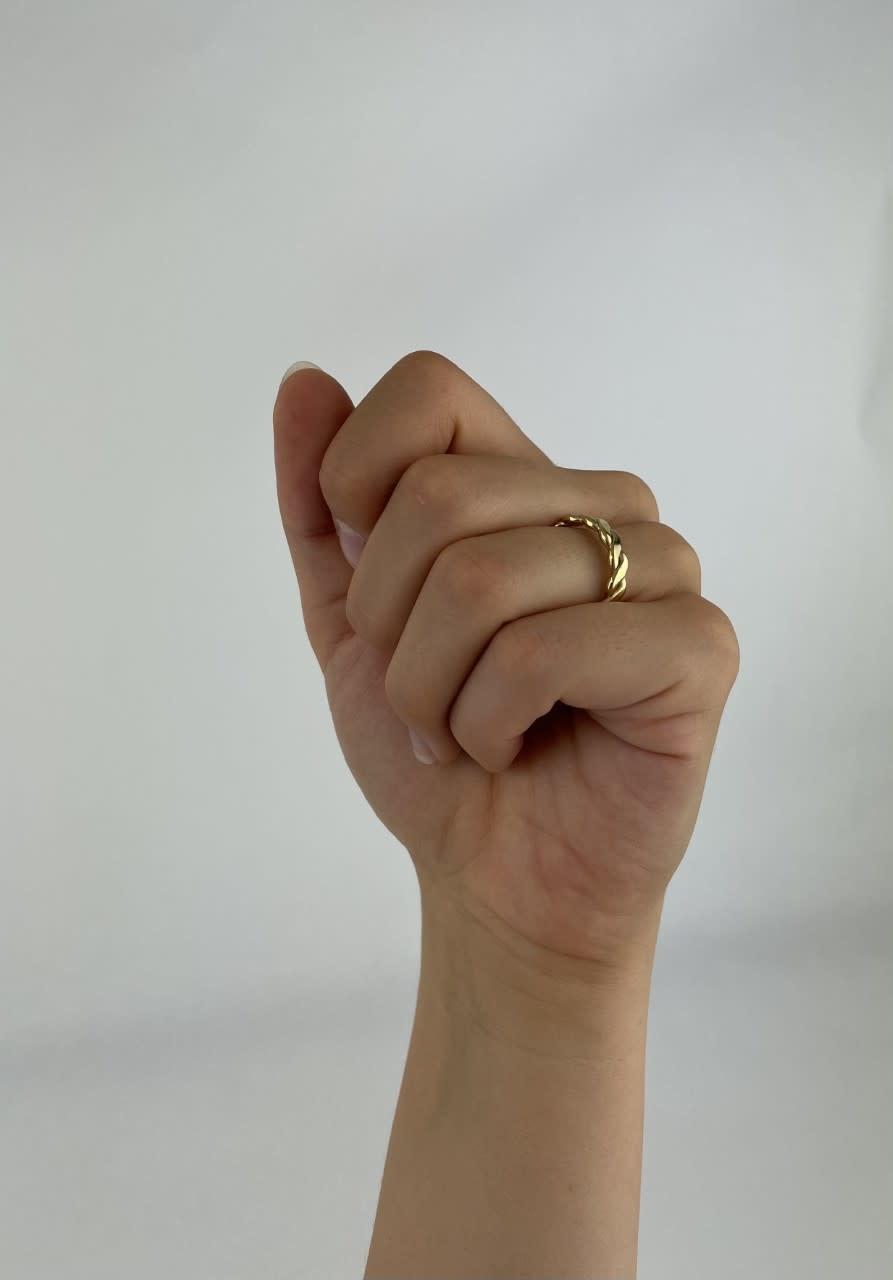 Jaida chain ring Gold-2