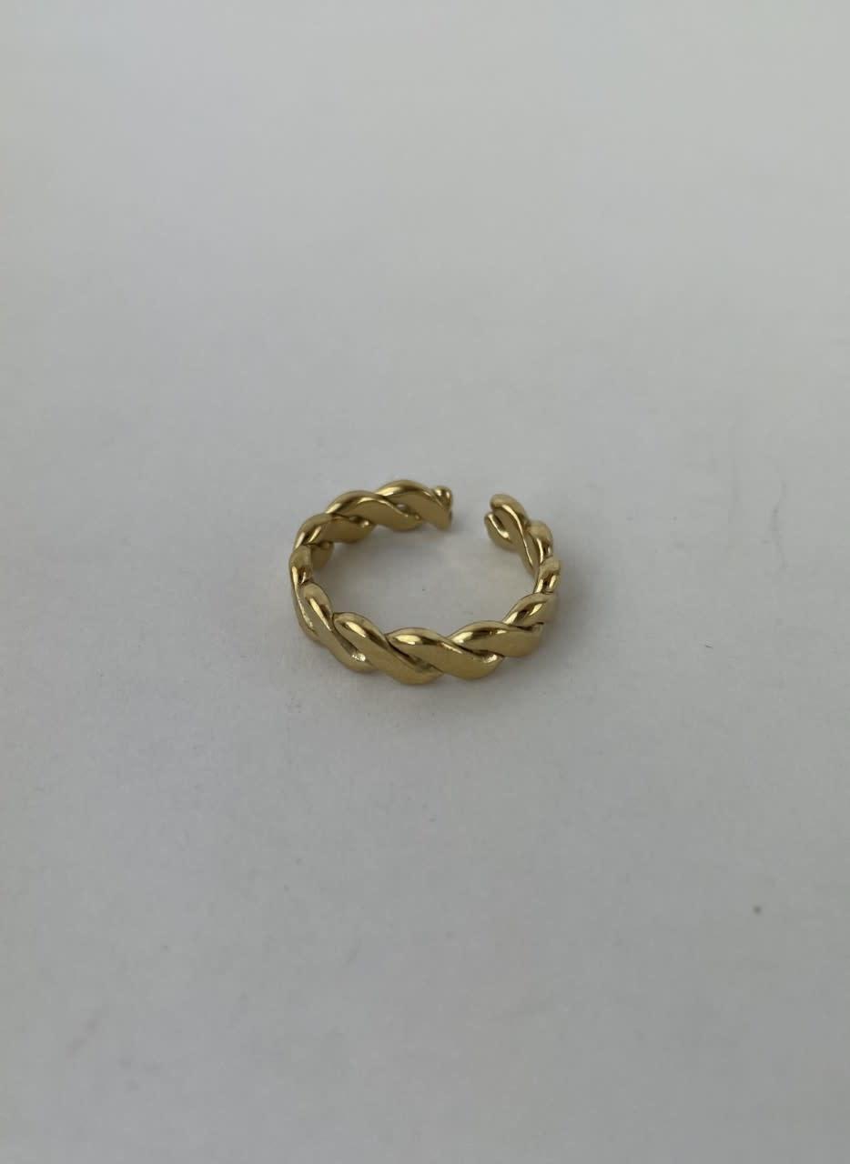Jaida chain ring Gold-3